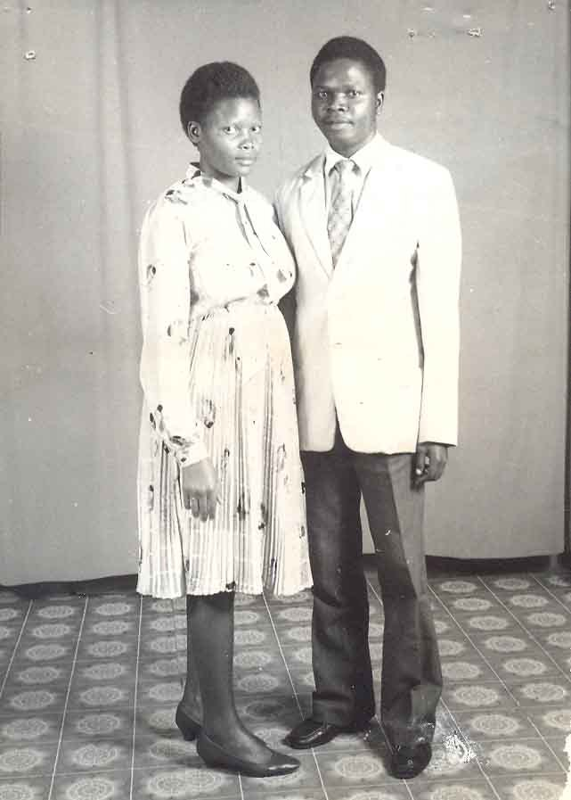 Kampala Couple 1970S
